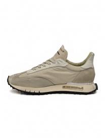 BePositive Space Race Stone beige sneakers