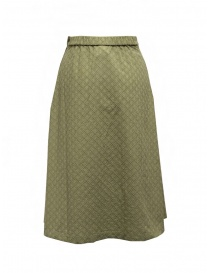 Cellar Door Clelia skirt in pistachio green cotton