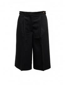 Cellar Door Ariel black bermuda shorts ARIEL NQ050 99 BLACK BEAUTY order online