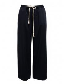 Cellar Door Laura pantalone ampio blu con coulisse online