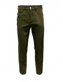 Cellar Door Kurt olive green pants online