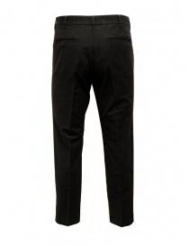 Cellar Door pantalone Kurt in cotone nero KURT NF457 99 BLACK BEAUTY