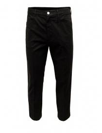 Pantaloni uomo online: Cellar Door pantalone Kurt in cotone nero