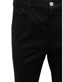 Cellar Door Kurt black cotton trousers mens trousers buy online