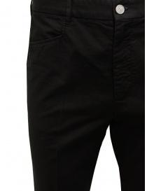 Cellar Door pantalone Kurt in cotone nero pantaloni uomo acquista online