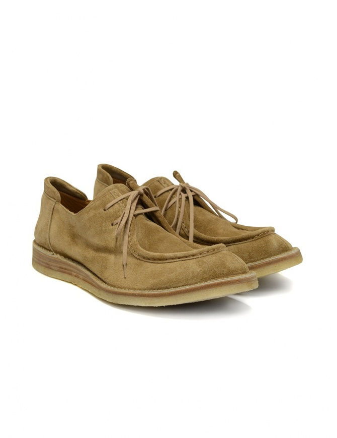 Shoto Sensory Alce suede moccasin with laces 7608 SENSORY ALCE mens shoes online shopping