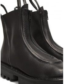Trippen Micro black ankle boots with front zip womens shoes buy online