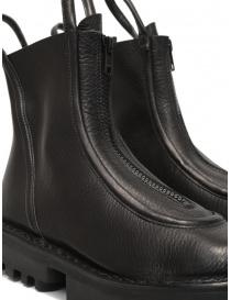 Trippen Micro stivaletti neri con zip frontale calzature donna acquista online