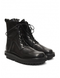 Womens shoes online: Trippen Tarone black boots in shiny leather