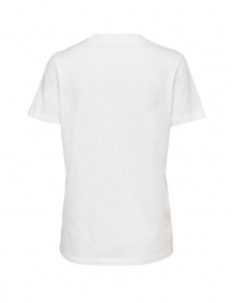 Selected Femme T-shirt bianca in cotone Pima