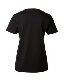 Selected Femme black T-shirt in Pima cotton