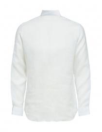 Selected Homme long sleeve white linen shirt