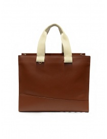 Il Bisonte Sole Fifty On brown leather tote bag online