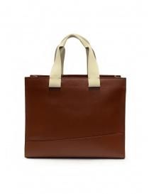 Il Bisonte Sole Fifty On tote bag in pelle marrone borse acquista online