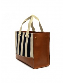 Il Bisonte Sole Fifty On striped tote bag