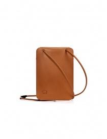 Il Bisonte Petite Pochette mobile phone bag in natural leather