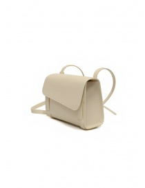 Il Bisonte Stufa Fifty On shoulder bag in white leather