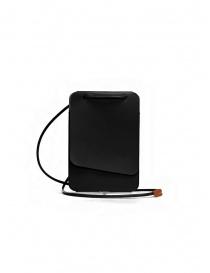 Borse online: Il Bisonte Petite Pochette porta telefono in pelle nera