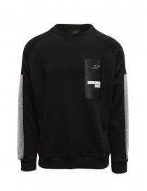 Whiteboards black sweatshirt with bubble wrap sleeves online
