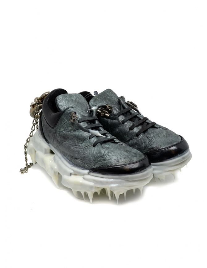 Carol Christian Poell drip sneaker da donna nera e bianca AF/0983-IN PACAL-PTC/010 calzature donna online shopping