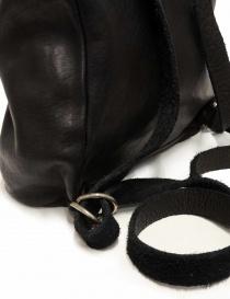 Zaino Guidi SA03 in pelle nera borse prezzo