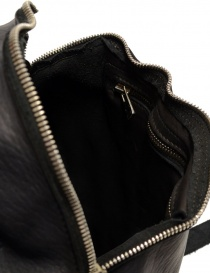 Guidi SA03 black leather backpack buy online price