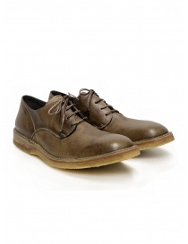 Shoto Nube Dive Tortora lace-up shoes in leather online