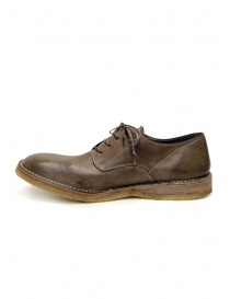 Shoto Nube Dive Tortora lace-up shoes in leather