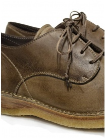 Shoto Nube Dive Tortora lace-up shoes in leather mens shoes buy online