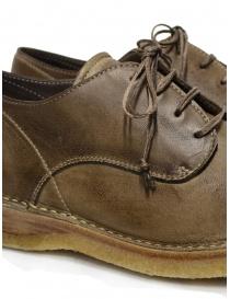Shoto Nube Dive Tortora scarpe stringate in pelle calzature uomo acquista online