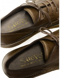 Shoto Nube Dive Tortora lace-up shoes in leather mens shoes price