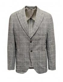 Selected Homme blazer grigio a quadri online