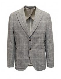Selected Homme grey checked blazer online