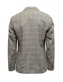 Selected Homme blazer grigio a quadri