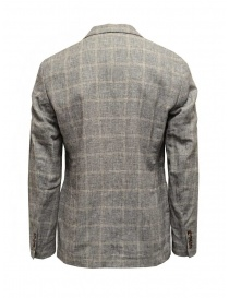 Selected Homme grey checked blazer