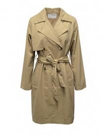 Selected Femme beige double-breasted trench coat 16076541 CORNSTALK order online