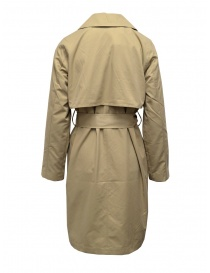 Selected Femme beige double-breasted trench coat