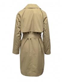Selected Femme cappottino trench a doppio petto beige
