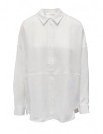 Selected Femme white long sleeve shirt in Tencel Lyocell 16077101 SNOW WHITW order online