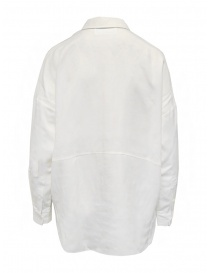 Selected Femme white long sleeve shirt in Tencel Lyocell