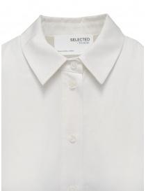 Selected Femme white long sleeve shirt in Tencel Lyocell price