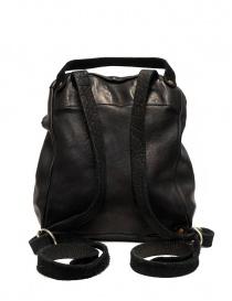 Guidi SA03 black leather backpack price