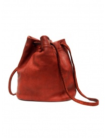 Guidi BK3 red horse leather small bucket bag price