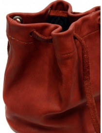 Guidi BK3 red horse leather small bucket bag bags buy online