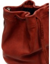 Guidi BK3 red horse leather small bucket bag BK3 SOFT HORSE FG 1006T buy online