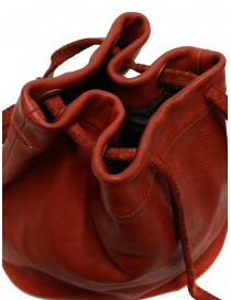 Guidi BK3 red horse leather small bucket bag bags price