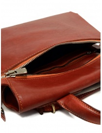 Guidi red leather shoulder bag with external pocket bags price