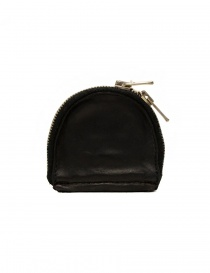 Wallets online: Guidi S01 black coin purse in horse leather