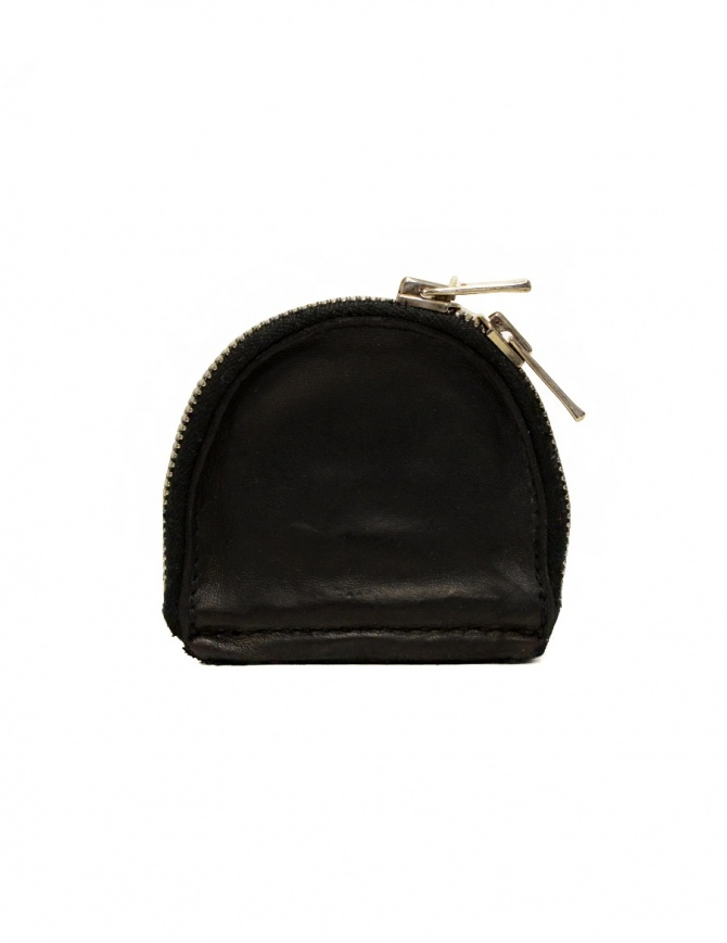 Guidi S01 black coin purse in horse leather S01 SOFT HORSE FG BLKT wallets online shopping