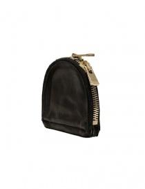 Guidi S01 black coin purse in horse leather